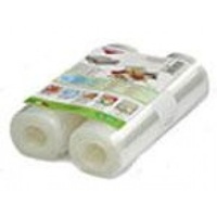 Unika Food Vacuum Appliance Rolls Twin Pack - 20 cm x 6 m