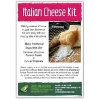 Instructions - Italian Cheese Kit