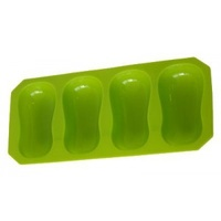 Soap Mould - Pinched Oval (4 Cavity)