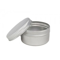 200 ml Silver Aluminium Jar and 82 mm Screw Cap