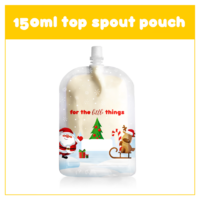 Sinchies 150 ml Top Spout Pouch Xmas - Pack of 10