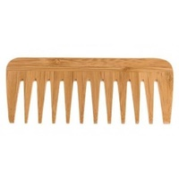 Sustainable Wide Tooth Bamboo Comb