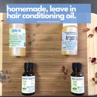 DIY Hair Conditioning Oil