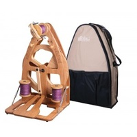 Joy Spinning Wheel 2 Single Treadle with carry bag