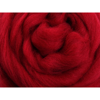 Merino Sliver - Cherry Red - 100 grams