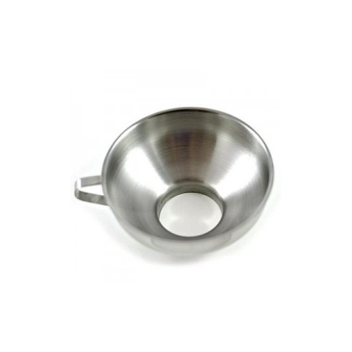 Jar Funnel - Large Opening - Stainless Steel