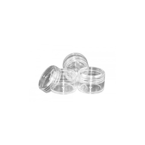 20 ml Clear Plastic Jar and Lid