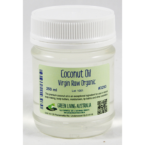 Coconut Oil Virgin Raw Organic 250 ml