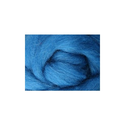 Corriedale Dyed Sliver - Lagoon - 100 grams