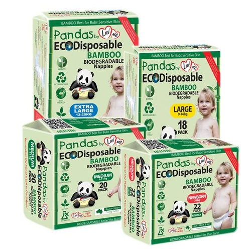 Bamboo Eco Disposable Nappies