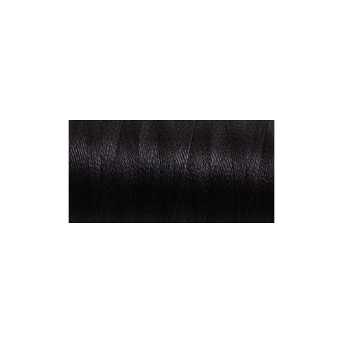 Mercerised Cotton 10/2 - Jet Set Black 200g