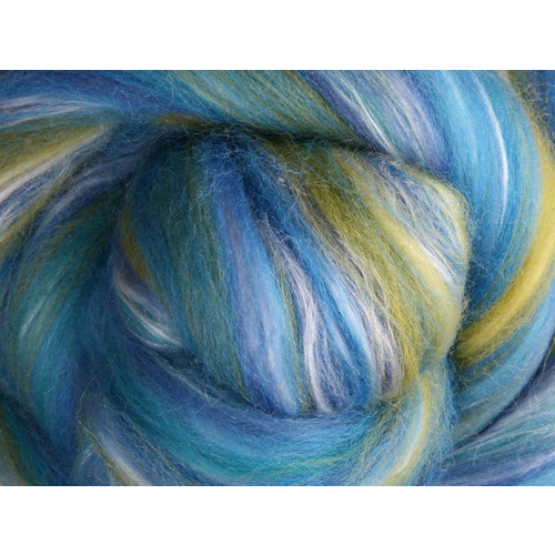 Silk Merino - Salvia  - 100 grams