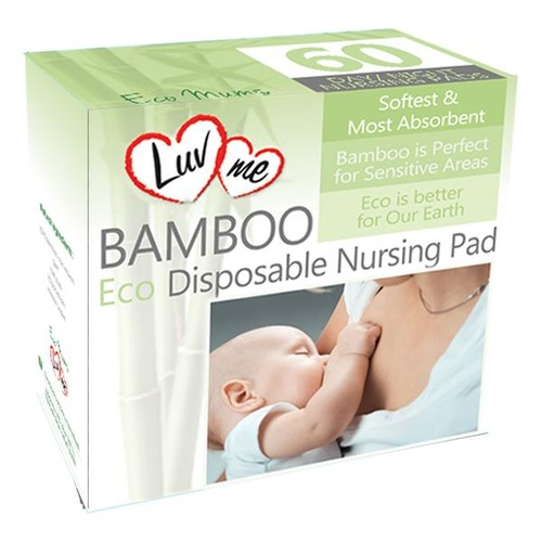 Bamboo Eco Reusable Breast Pads